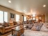 cozy living room for movie night