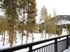 Porch with phenomenal view os Keystone nature