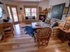 Living room with cool animal skin rug