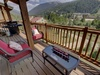 Balcony with amazing mountain views