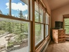 Bedroom with a amazing view of the quaking aspen amphitheater