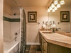 Bathroom with shower/bath duo