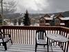 balcony with amazing mountain view