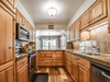 Kitchen with stainless appliances