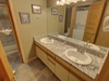 Bathroom with duo sinks