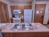 Kitchen with a stainless sink