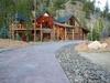 Walkway toa beautiful house