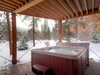 Hot tub that is relaxing and cozy