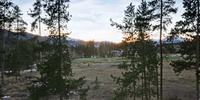 Amazing sunrise view of Keystone