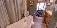 Beautiful bathtub to relax in