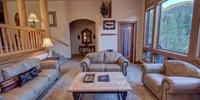 Living room with super soft carpet