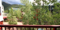 Porch with wonderful spectacular view of Keystone