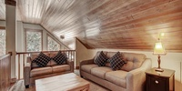Attic with lounge
