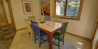 Lovely dining area with views!