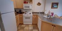 Kitchen with gorgeous granite countertops