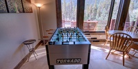 Foosball table perfect for a family game night