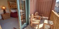 Bedroom with balcony access
