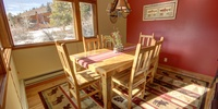 Dining table perfect for a family dinner
