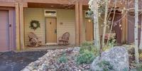 Front porch of Ski Tip Ranch 8739