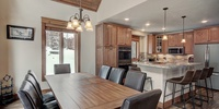 Dining area perfect for a family diner