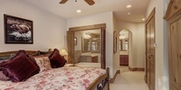 Bedroom with a private bathroom