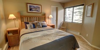 Bedroom with amazing view of Keystone