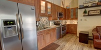 Kitchen with room for all apliances