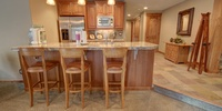 This is another breakfast bar great for entertaining and meals