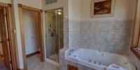 Bathroom with a walk inshower