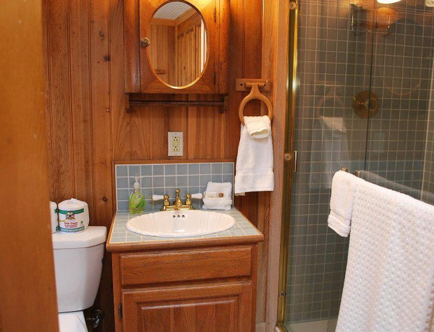 2nd Bathroom downstairs (off kitchen)