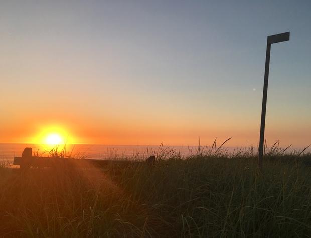 T Sunset