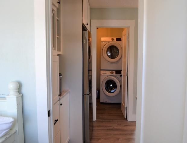 Laundry and 1/2 bath