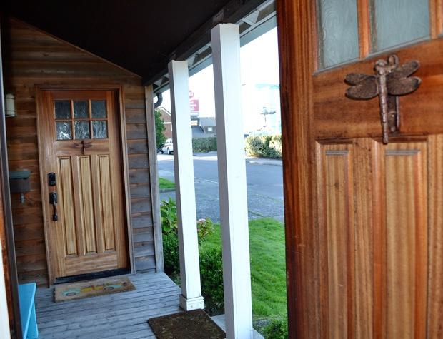 Front porch looking toward beach access