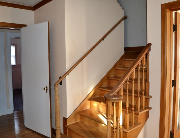 Heading Upstairs (King & Queen Bedrooms)