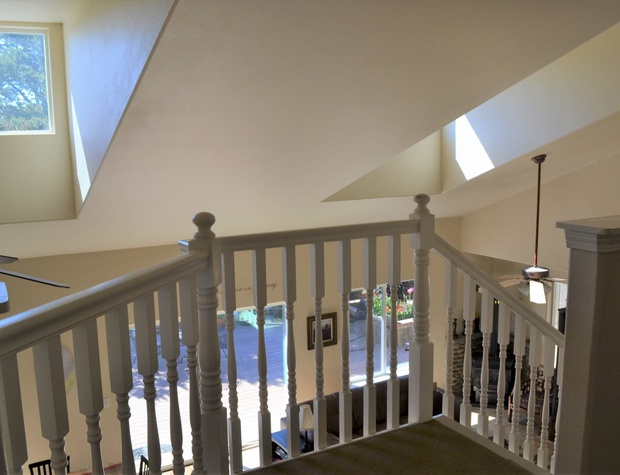 Exiting Upstairs King Bedroom