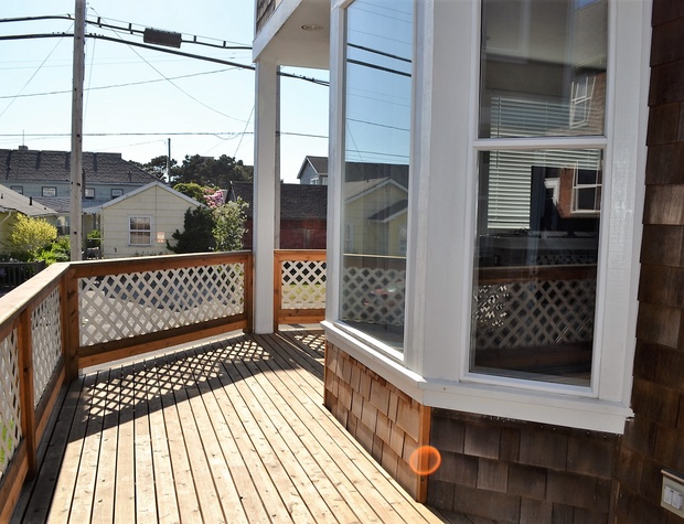 Side Deck facing the street
