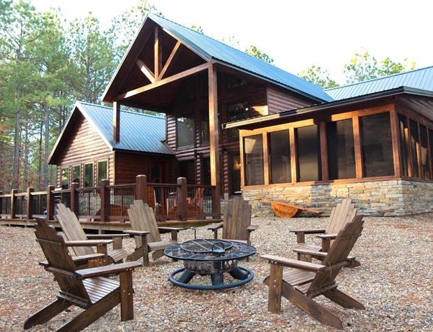 Enjoy Relaxing at the Firepit while at Little White Dove