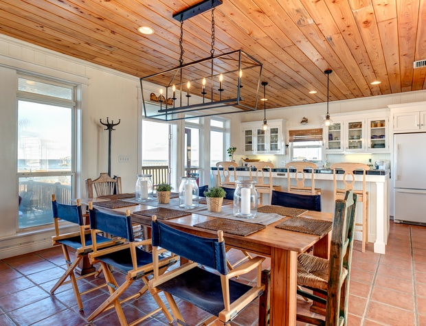 Dining Room for Family and Friends on Dauphin Island