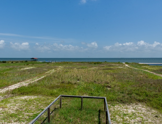 Bay View from back porch Saltaire Dauphin Island Beach Rental