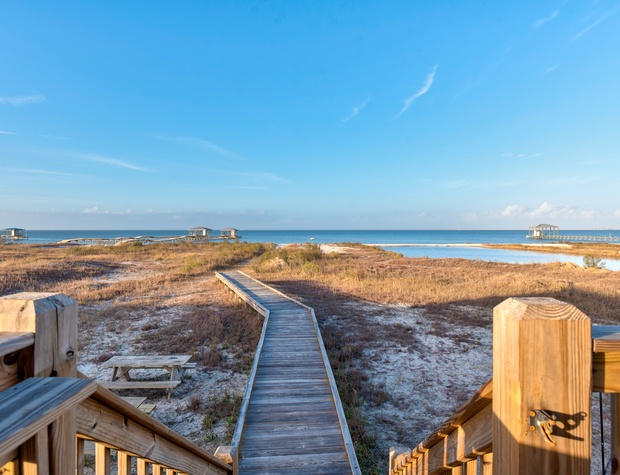 Boardwalk to the Bay