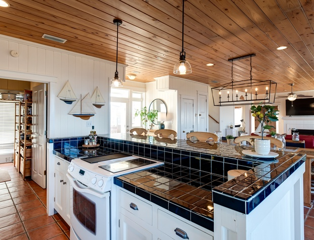 The Bay House Fully Equipped Kitchen