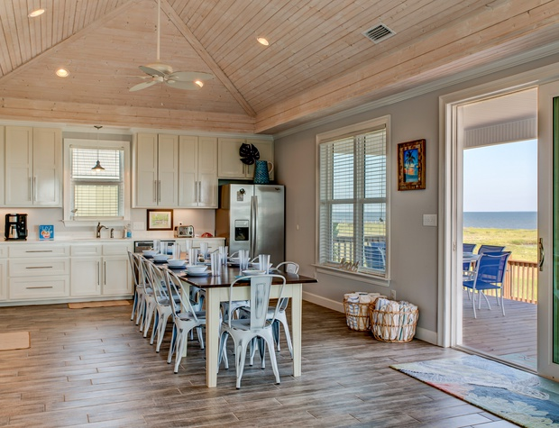 The Blue Crab Farmhouse Kitchen Dining