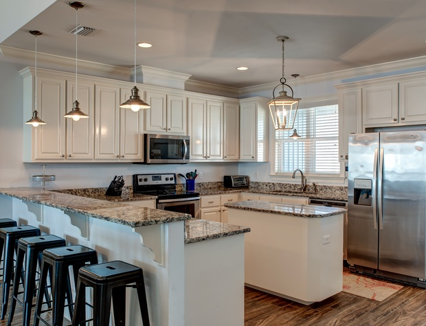 Kitchen for Entertaining at High Tide Dauphin Island