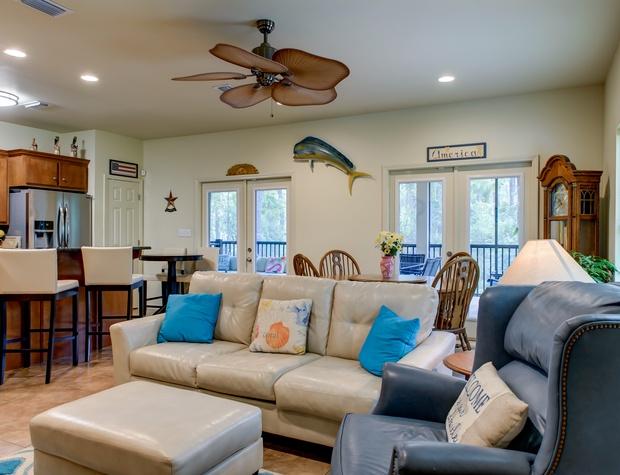 La Tretraite Living Room Dauphin Island Get Away