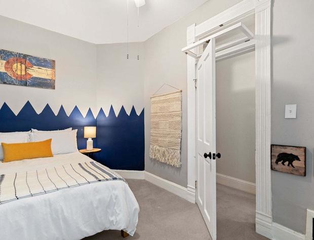 Full-Size Bed in Bedroom 2