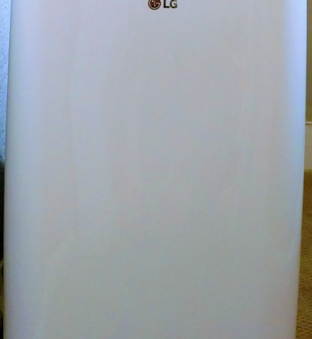 Portable A/C Unit in Bedroom 2