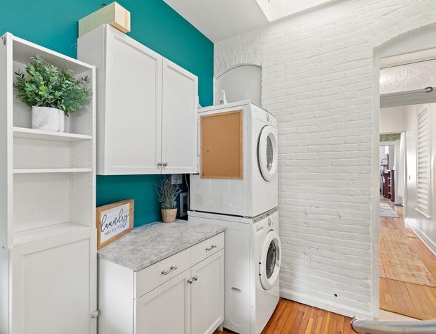 Laundry Area in Rear Mudroom Entrance