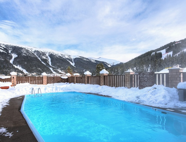 Heated Outdoor Pool for Complex