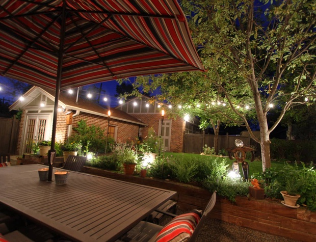Spend the evenings at the outdoor patio space