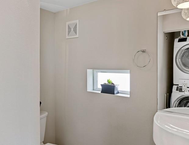 Half Bathroom with Laundry
